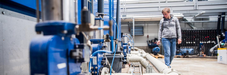 Jeppo Biogas biogasanläggning producerar industribiogas