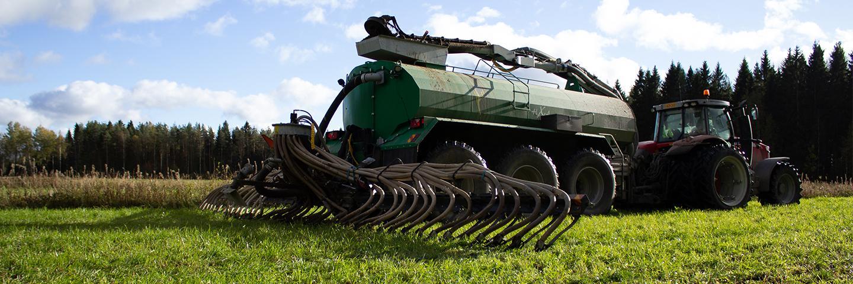 Jeppo Biogas producerar växtkraft för gödselbruk